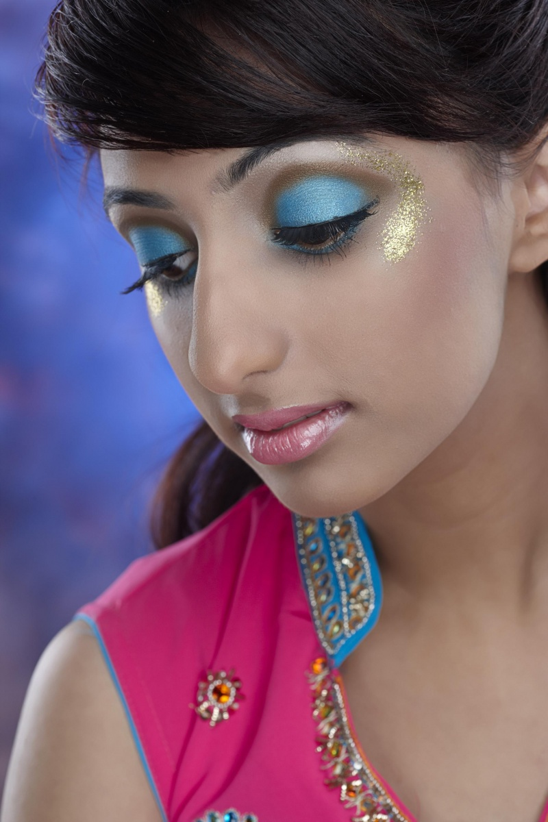 Mid-Town Toronto, ON Feb 18, 2010 Me & Dave & model Kiran Rai Creative makeup look under Portfolio Update