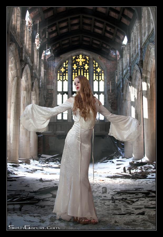 Burnt Down Church, Gary, Indiana Feb 18, 2010 Seth Garcia Photography The Angel Returns