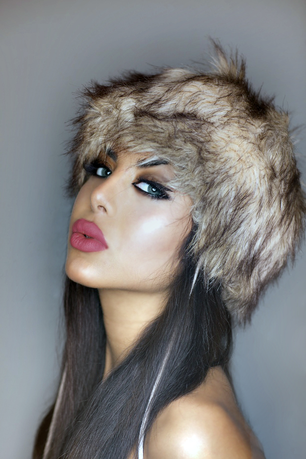 Female model photo shoot of Miss Deli