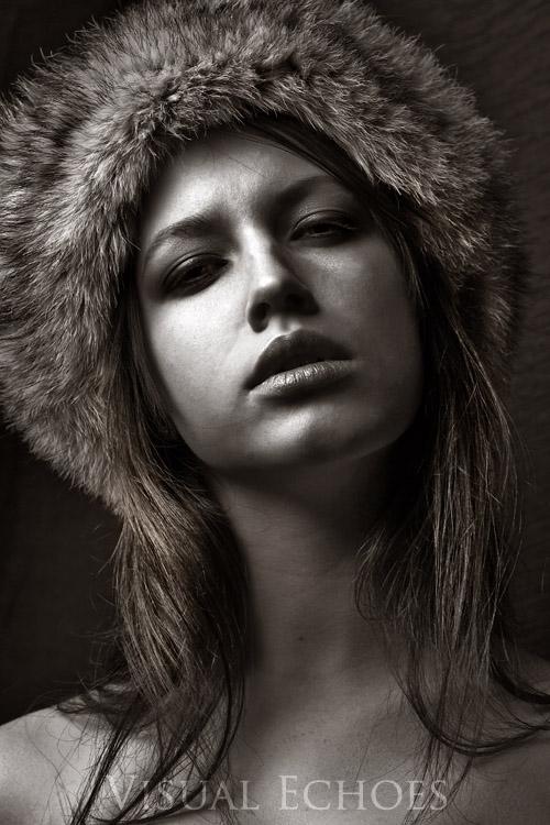Female model photo shoot of Visual Echoes and Rachel Clugston in Buffalo studio
