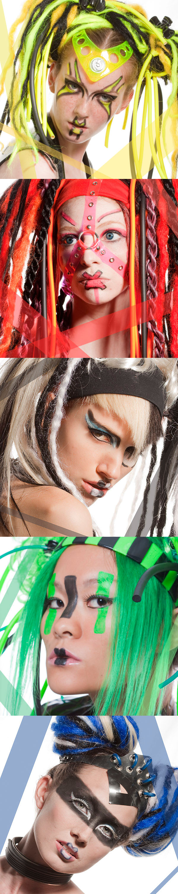 new  york Feb 23, 2010 Make Up & hair by Venus Pain / Isabelle Batz Fashion show @ stimulate event