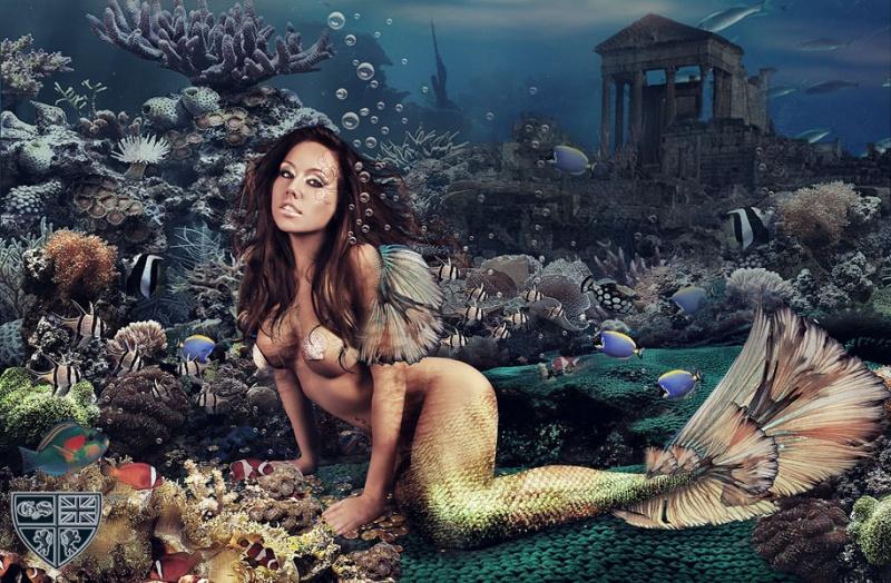 under the sea :) Feb 23, 2010 Grant Sims Photography & Manda Rae I Love Mermaids!!! :)