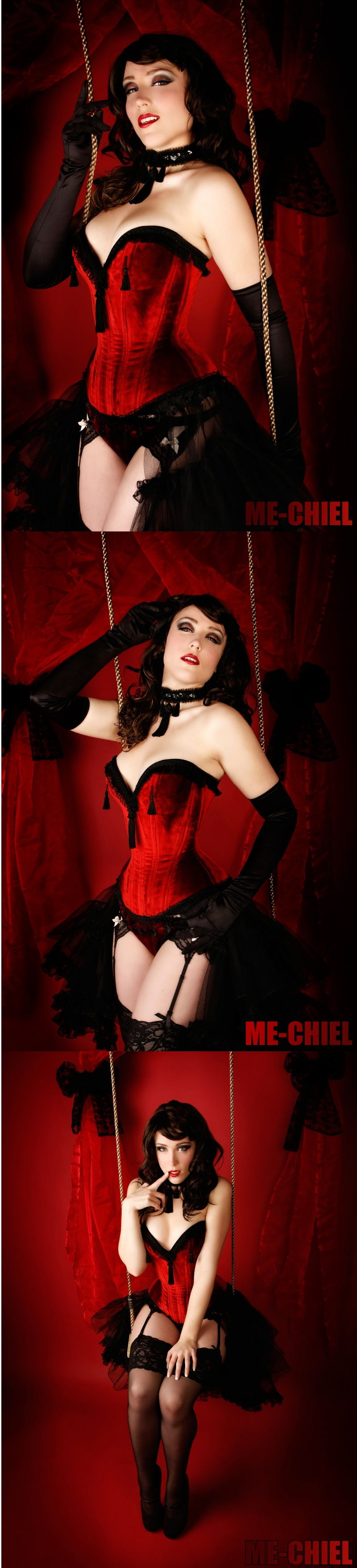 Feb 24, 2010 picture; me-chiel, corset; BizarreDesign Yolinda squeezed burlesque style by BizarreDesign