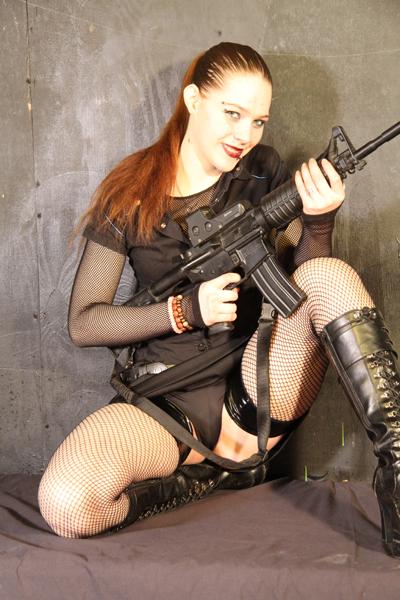 Female model photo shoot of Scarlett Rose_Pride by Cowboydave Photography in Leland City Club, Detroit, MI