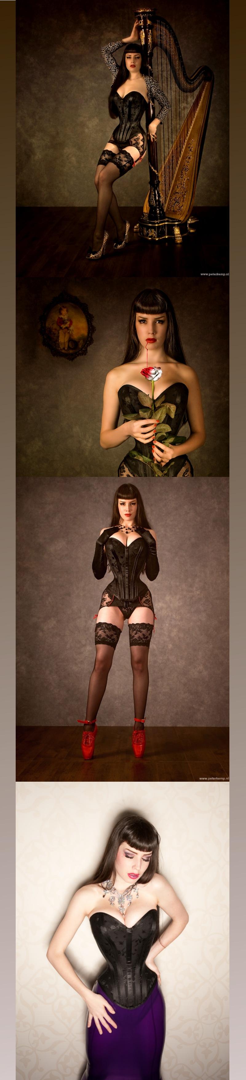 Feb 24, 2010 pictures: Peter Kemp (last phoebuz), corset BizarreDesign Dena in 18 inch