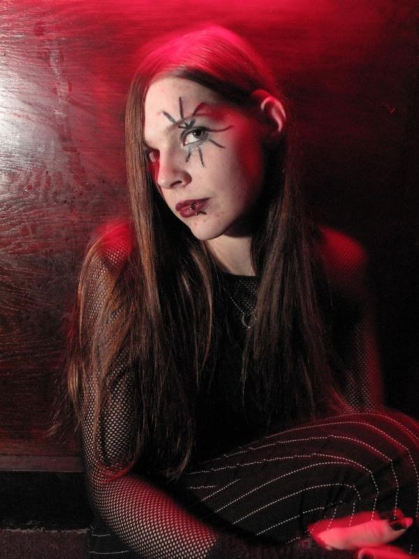 Female model photo shoot of Scarlett Rose_Pride in Factory Monday- Necto