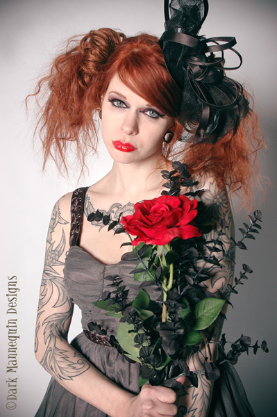 Greenville, Ohio  Feb 25, 2010 Dark Mannequin Designs Love is a Rose