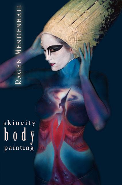 Feb 25, 2010 Ragen Mendenhall FireBird Body Painting