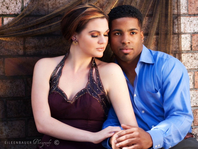 Male and Female model photo shoot of Stephen Lamar and Malicious Envy by EB Photography in San Jose-- Eileen Bauer Photography