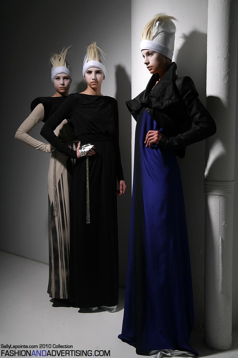 NYC  Mar 02, 2010 2010 FashionandAdvertising.com Sally Lapointe 2010 Collection shoot