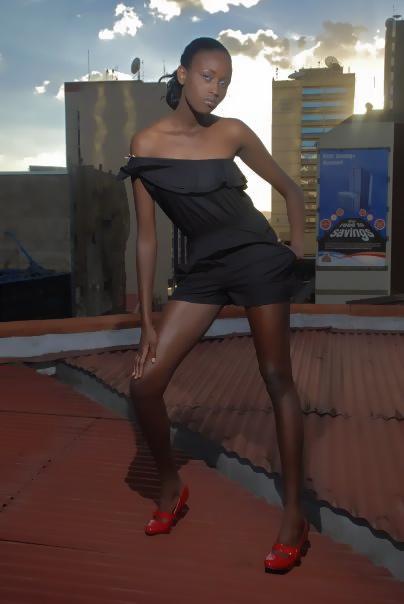 Female model photo shoot of CIRU Maina