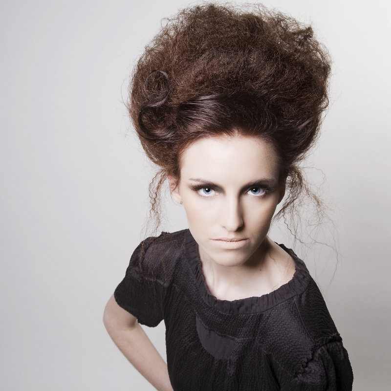 Sheffield Mar 03, 2010 Michael Siggers Hair Photoshoot for House of W Hairdressers Window & Published in Exposed Magazine showcasing the Stylists work.