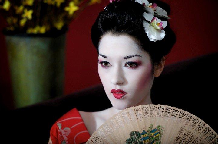 Las Vegas Mar 03, 2010 Geisha Hair and Makeup