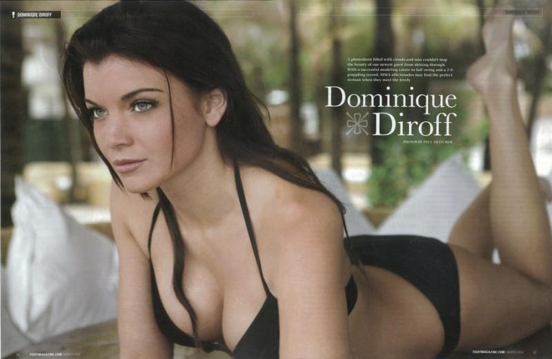 Female model photo shoot of Dominique Diroff, makeup by Orestes De La Paz