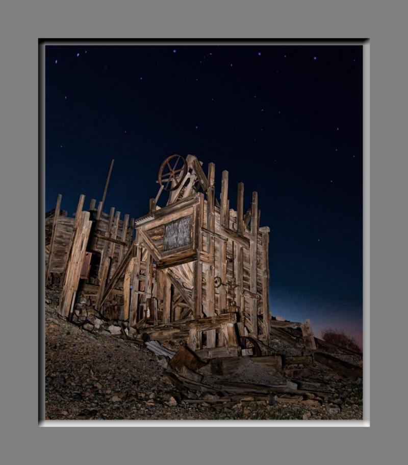Colorado Desert Mar 04, 2010 2010 nwprophoto.com Abandoned mine in AZ.