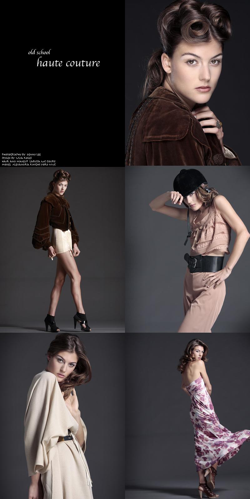artcube Mar 05, 2010 dennyleephotography.com model Alexandra Knight for FORD NYC