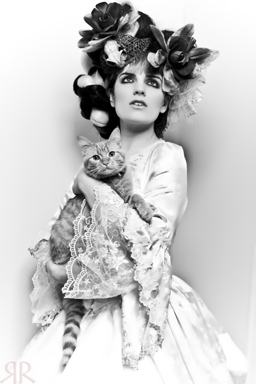 My house Mar 06, 2010 Redrum Collaboration The cat is my baby boy, Lestat. Dress by the fabulous www.romanticthreads.com