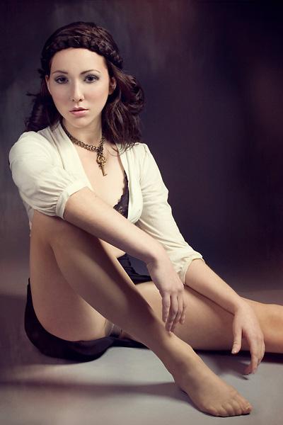 Female model photo shoot of Nina Mukhar, makeup by Keke Vasquez