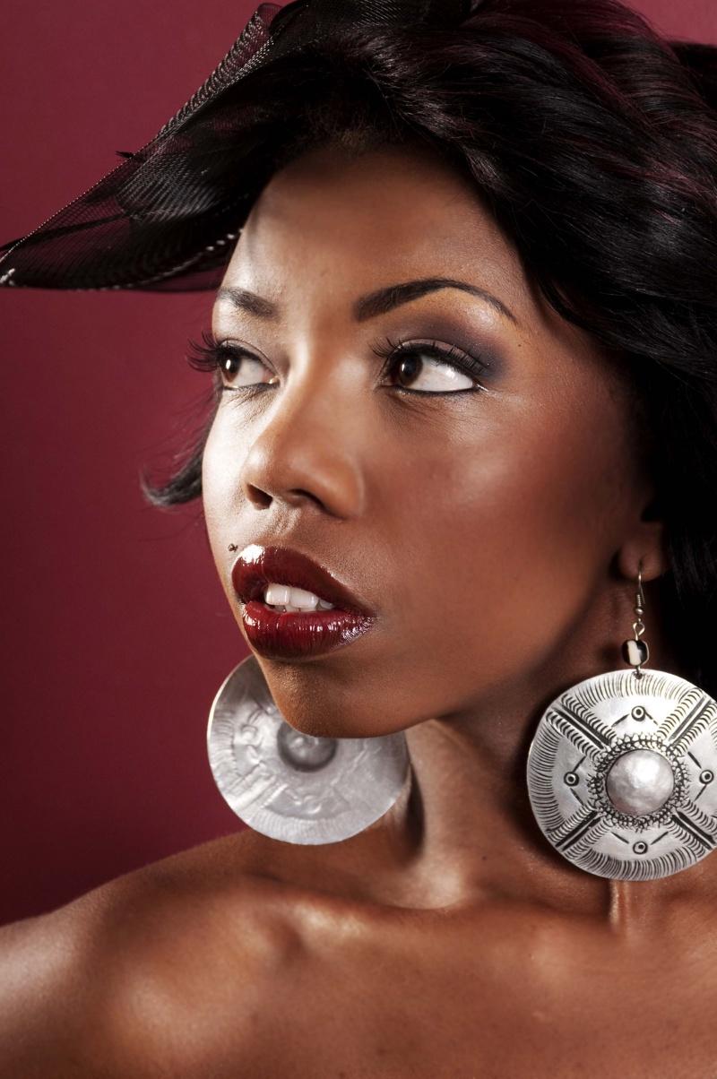 Female model photo shoot of Kobi Kenzo by Hipgnosis Dreams, makeup by LaTonia Monday - Makeup