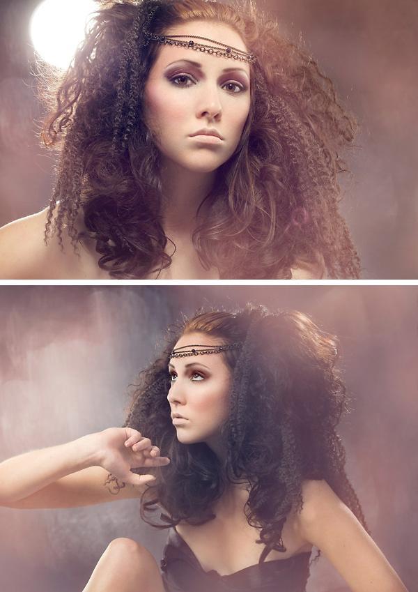 Female model photo shoot of emasita by StephanieLM, hair styled by Nina Mukhar, makeup by Keke Vasquez