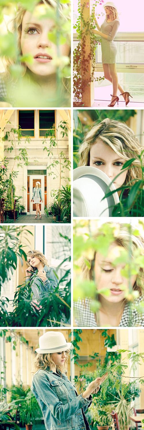 Mar 11, 2010 charlotte lin botanical excursion. model steph c. @ la caractere