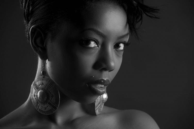 Female model photo shoot of Kobi Kenzo by Burnside Media Group