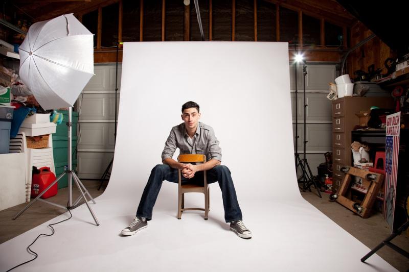 Male model photo shoot of Daniel Arevalo  in Home studio