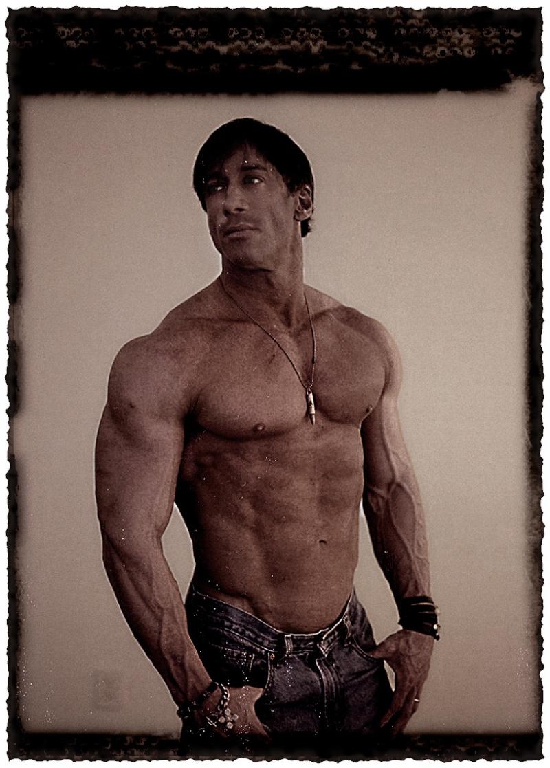Male model photo shoot of Steven Herman in E. G. Studios