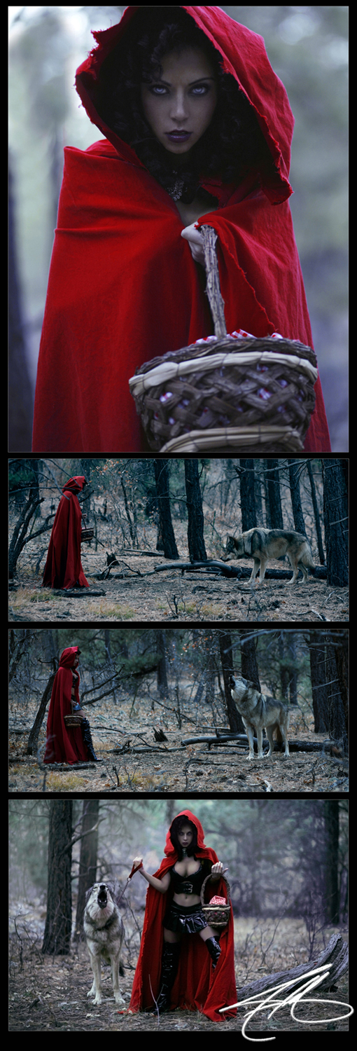 The Woods Mar 19, 2010 Jeffryhaas Reds Revenge...and yes, the wolf is real and on set, and was a pain in the ass!