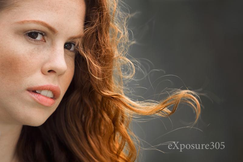 Female model photo shoot of Stephanie H by Johnny Villaronga, makeup by Lelys