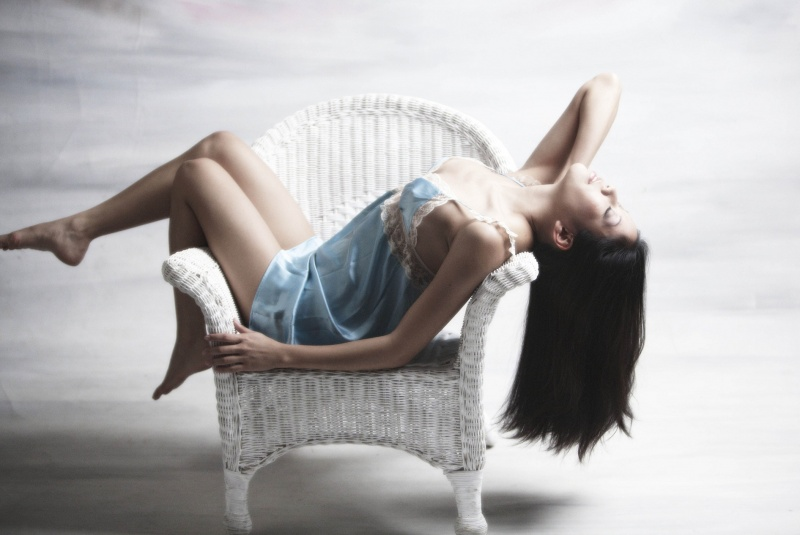 Female model photo shoot of Shayra Li
