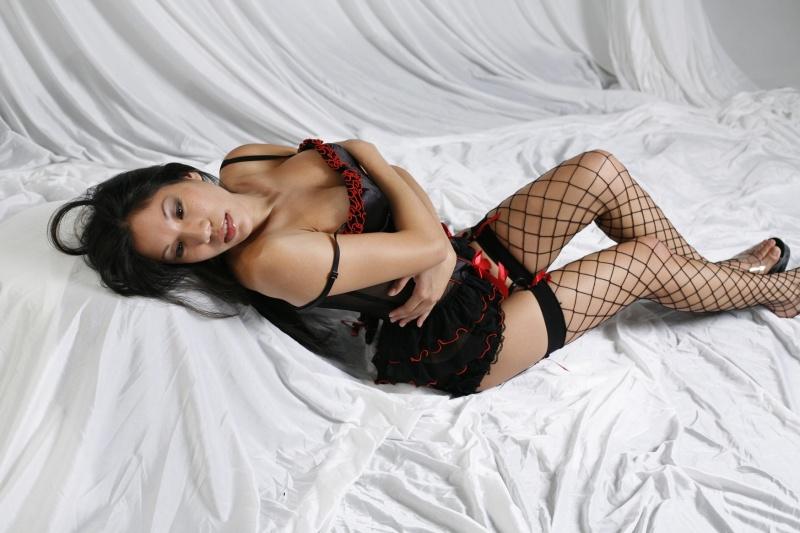 Female model photo shoot of Shayra Li by RMU photos