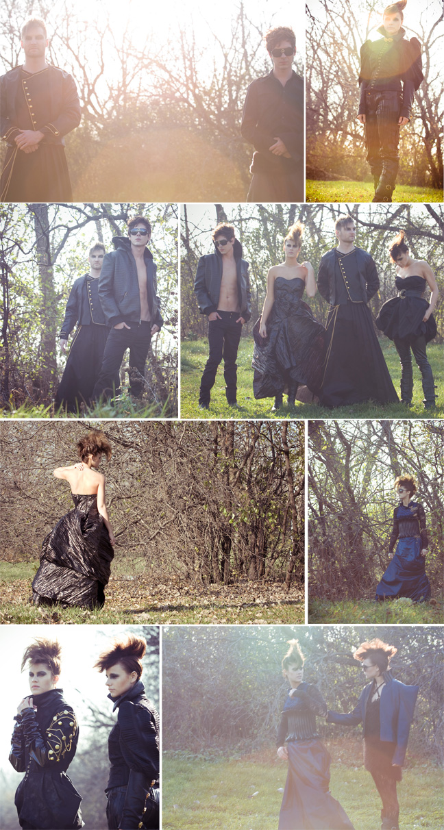 Male and Female model photo shoot of ace ujimori, JacSola and User no longer active, clothing designed by JuJu LaCour