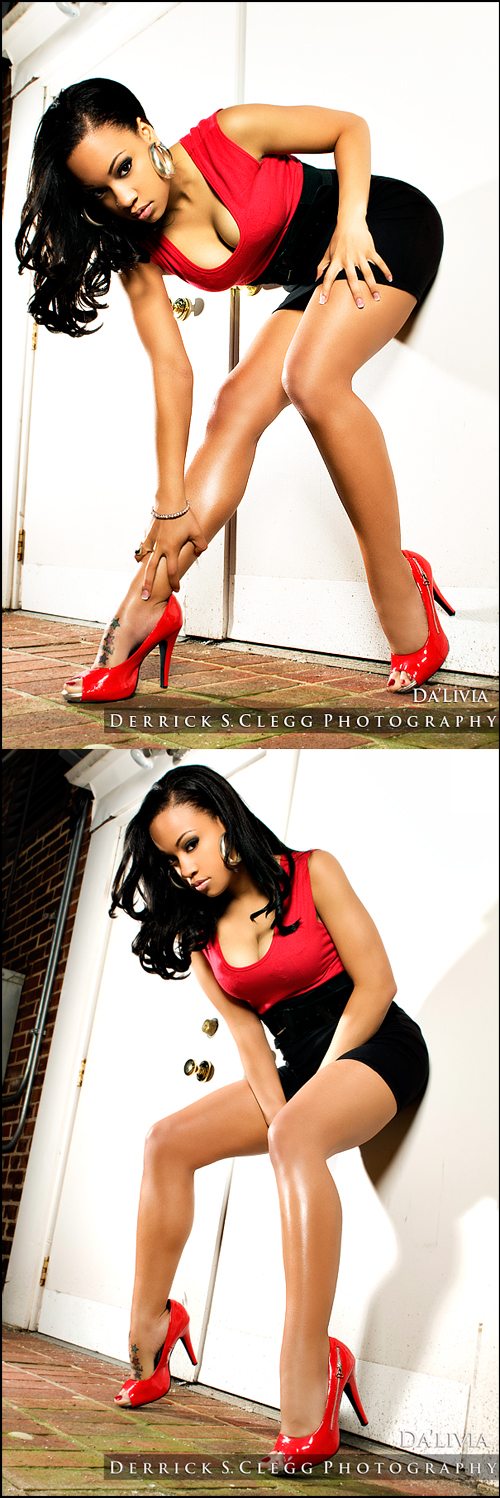 Female model photo shoot of MsDaLivia by Derrick S Clegg and D Clegg Photo