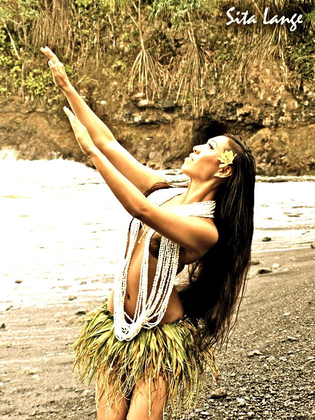 Female model photo shoot of Kumukahi by Hawaiian Mermaids