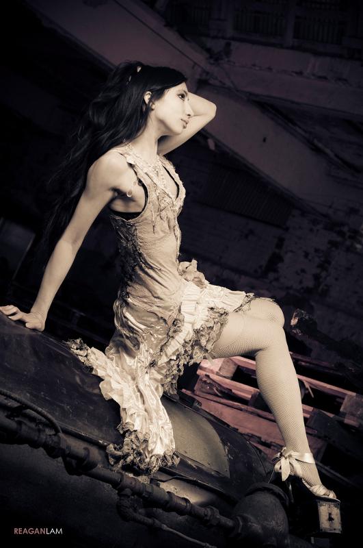 Female model photo shoot of Khimaira by Reagan Lam in Philadelphia, PA