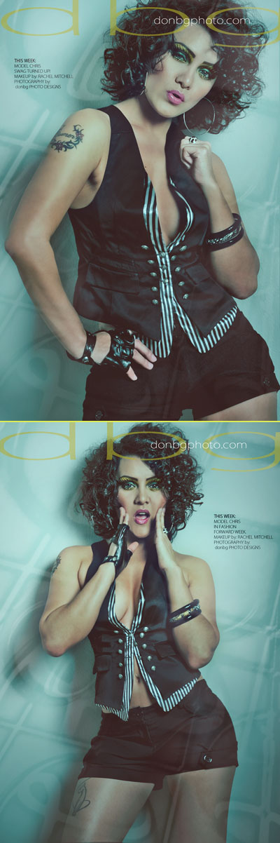 Female model photo shoot of Rachel Mitchell and LadyFriend Chris by DONBG in austin texas -studio