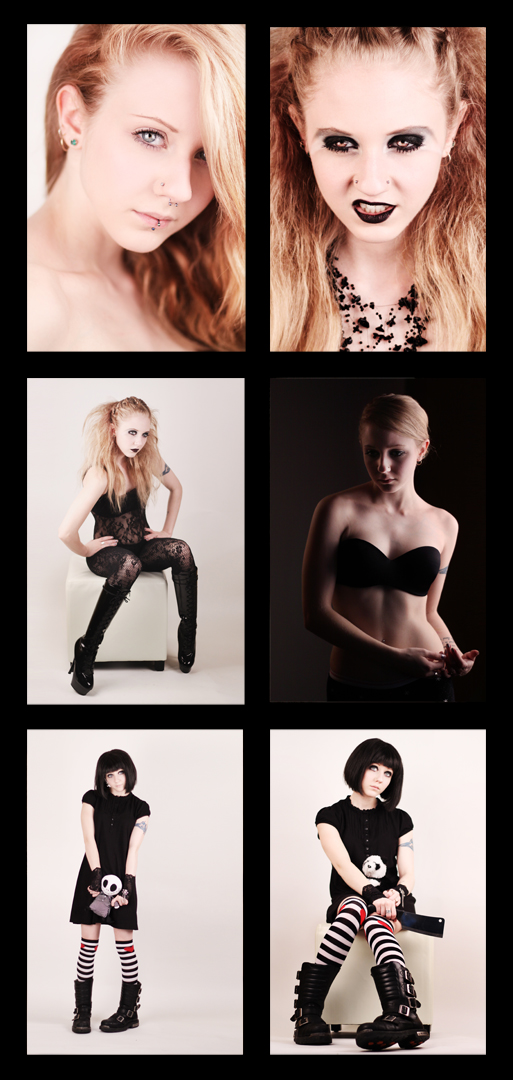 Female model photo shoot of Nadine A Graham and Melynda  Moon