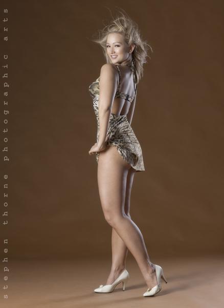 Female model photo shoot of PURA VIDA by Stephen Thorne