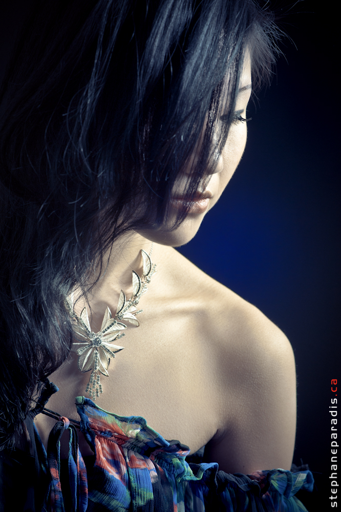 Female model photo shoot of Becky Yuen by Stephane Paradis