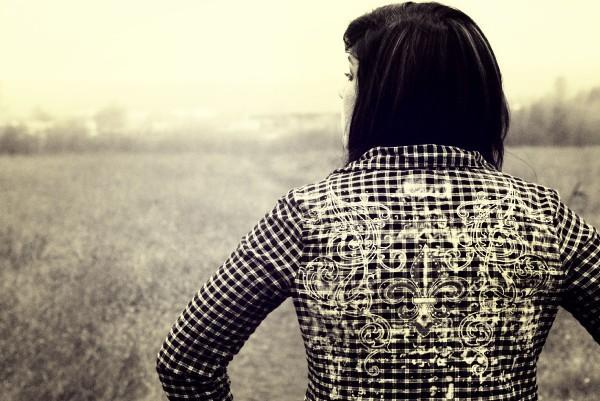 Female model photo shoot of TaraJune in Open Field