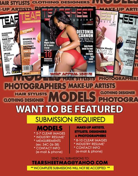 Male model photo shoot of TEARSHEET Magazine