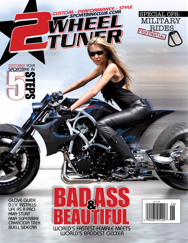 New Jersey Apr 07, 2010 2 Wheel Tuner July 2009 - Cover w/ Leslie Porterfield