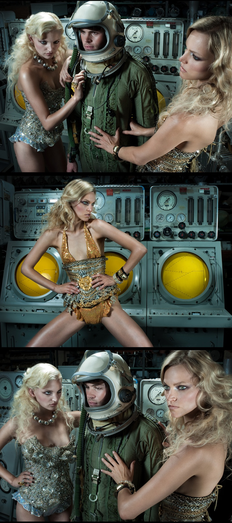 Studio Apr 12, 2010 fotoigaist Rocketman, Stylist: Lindsay Albanese, Models: LA models