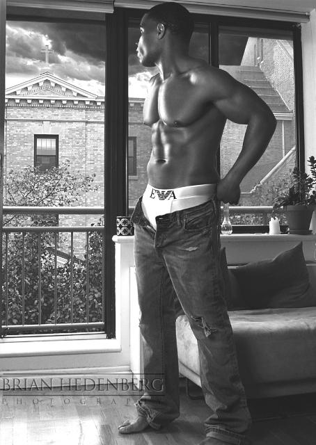 Male model photo shoot of Yusha Thomas