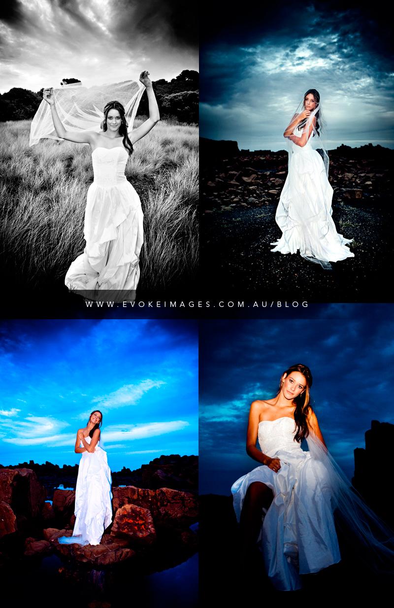 Bombo, New South Wales, Australia Apr 14, 2010 Evoke Images 2010 Aleisha Brookesmith Bridal