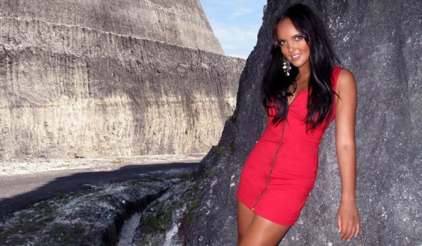 Bali Apr 15, 2010 Claudia Red Dress