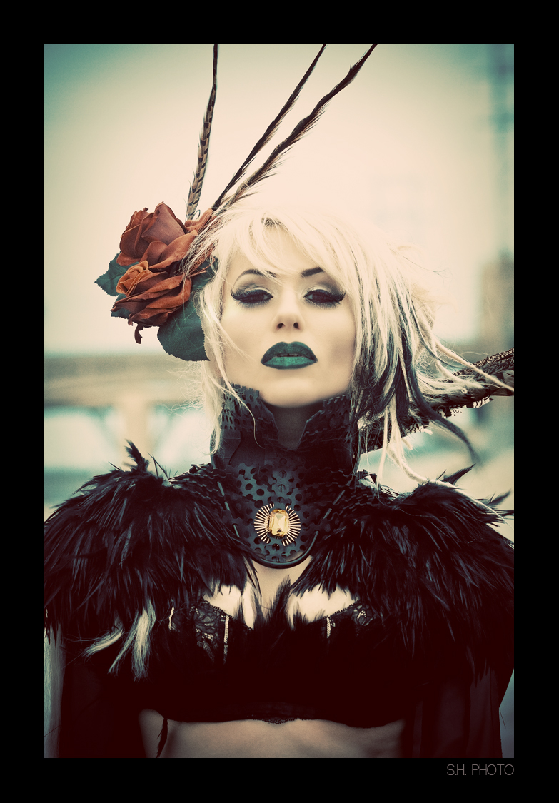 CA Apr 15, 2010 Photography: Sam Hernandez Wardrobe: Eirik Aswang Makeup/hair: Sydney Bruce, Cadaver Couture