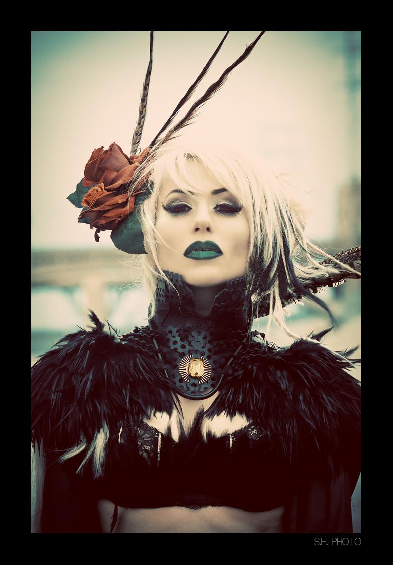 CA Apr 15, 2010 Photography: Sam Hernandez Wardrobe: Eirik Aswang Makeup/hair: Sydney Bruce, Cadaver Couture