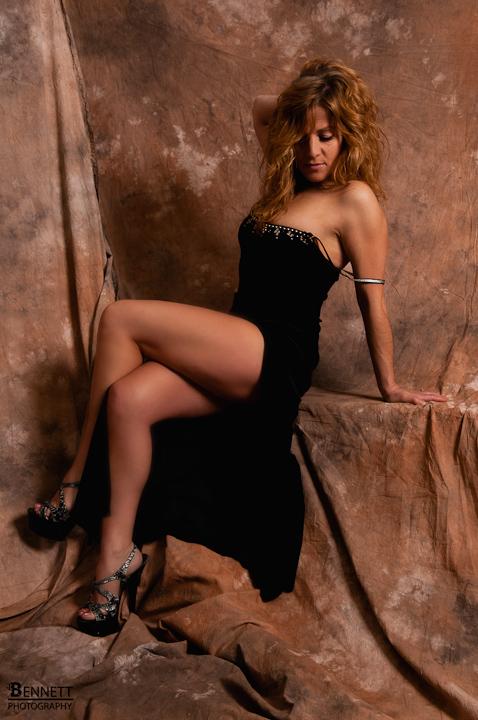 Female model photo shoot of Rio Chick by ChrisBennett in Studio
